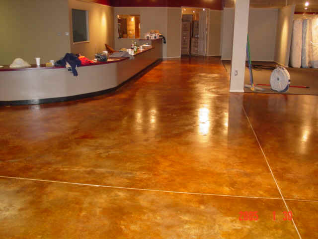 gallery for concrete acid stain